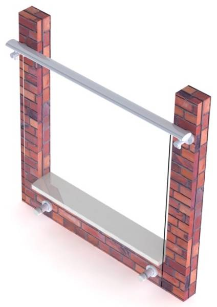 Clearview Juliet Balcony System - Type D