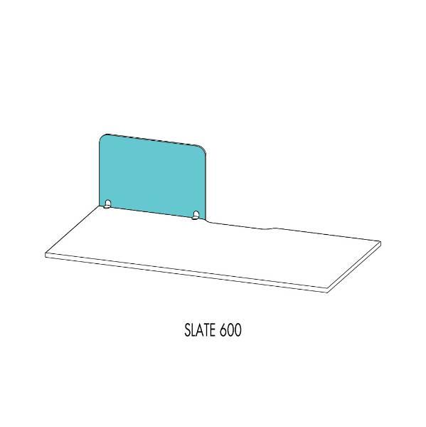 Vicinity™ Desk Screens Slate