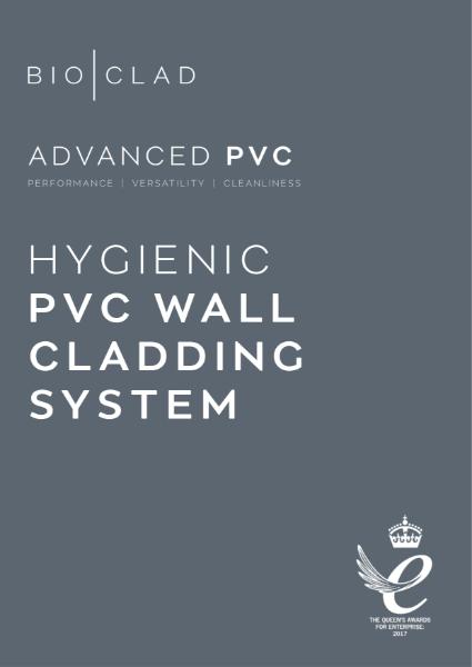 BioClad Advanced Hygienic PVC Wall Cladding