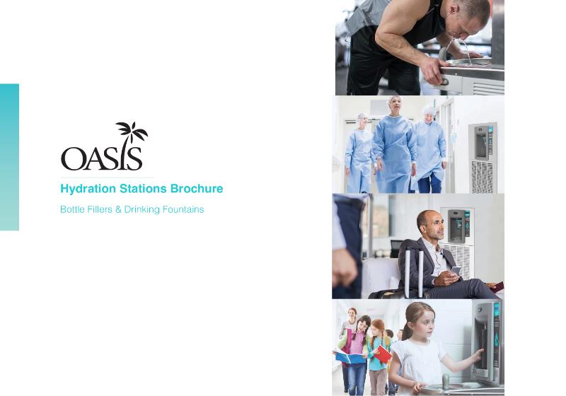 OASIS Drinking Fountain & Bottle Filling Station Brochure