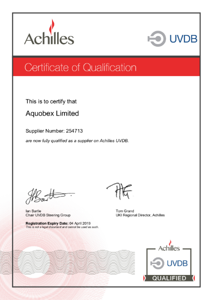 Certificate of Qualification