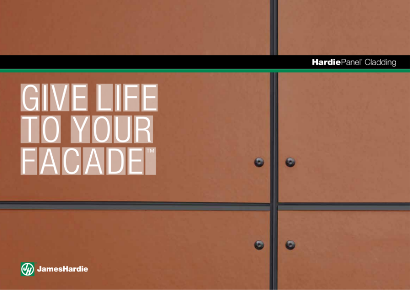 HardiePanel® Cladding Brochure