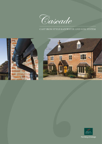 Cascade - Cast Iron Style Rainwater and Soil Systems