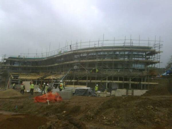 RHS Harlow Carr : ECOSCREED Thermal M13 TF
