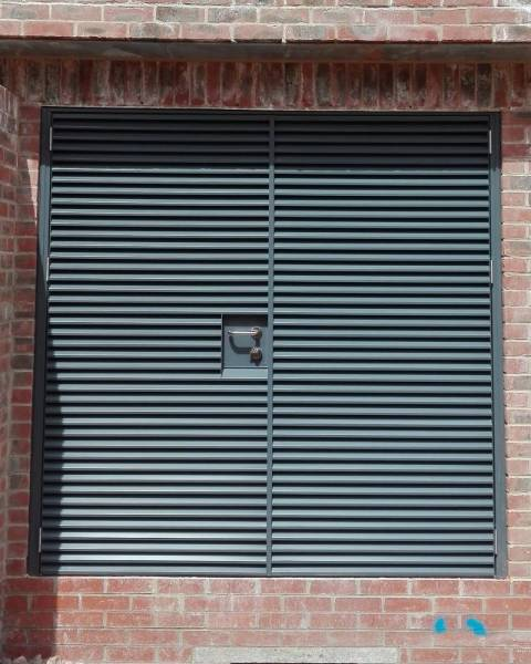 Louvered Steel Doorsets- Armourdoor AD30