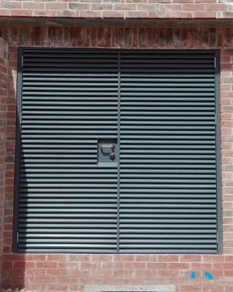 Armourdoor Louvred Steel Door AD30 - Single