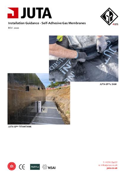 JUTA Self Adhesive Gas Barrier Installation Guidance