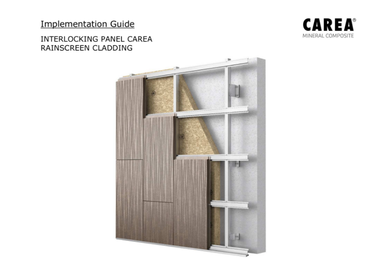 Implementation Guide for Interlocking Panels - With Subframe