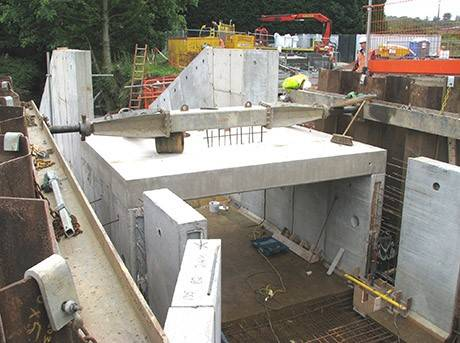 One in the chamber for concrete specialist as turbine project reaches completion