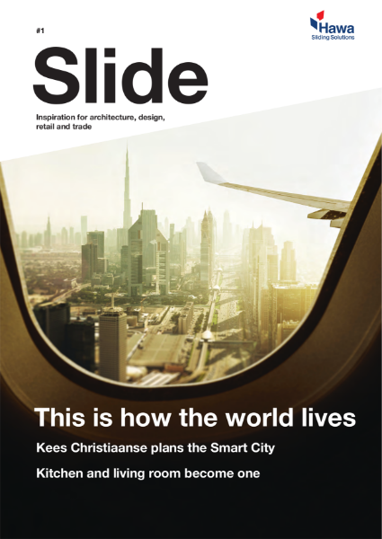 Hawa Slide Magazine for architects and specifiers