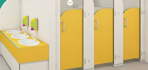 Sydney CGL® Durable Infant Toilet Cubicles