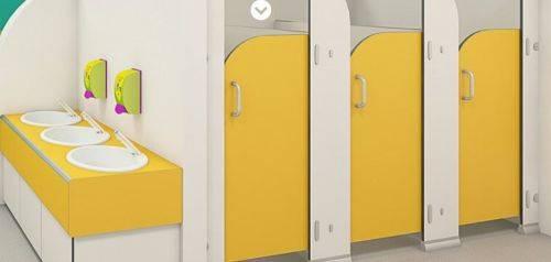 Sydney CGL® Durable Infant Toilet Cubicles