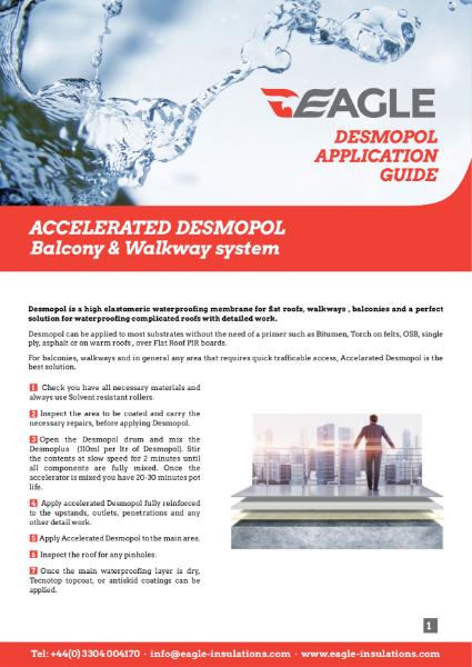 Desmopol Application Guide - Balcony & Walkway system