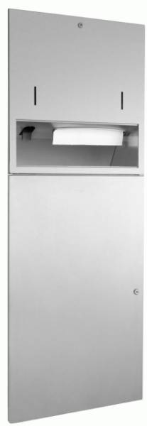 DP4309 Dolphin Prestige Combination Paper Towel, Soap Dispenser and Waste Bin