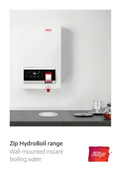 Zip HydroBoil range