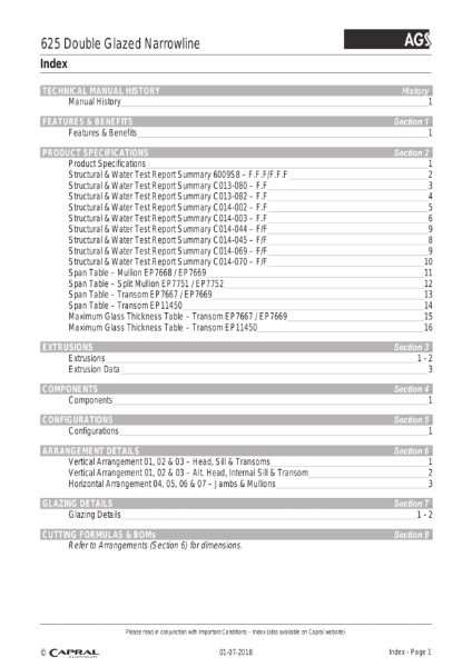 Technical-Manual_AGS-625Narrowline_Capral_2018_07_01