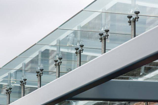 Bolted Glass Canopy