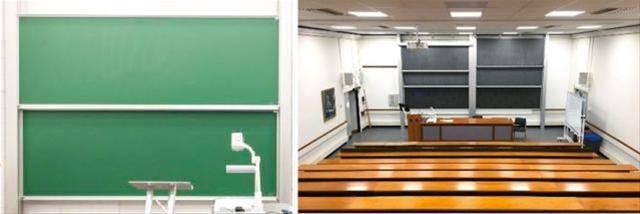 TeacherBoards Sundeala VES Chalkboard Column Board