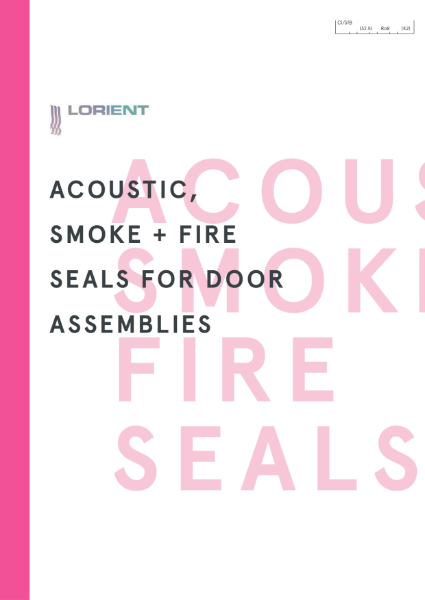 Acoustic, Smoke and Fire Seals for doors brochure
