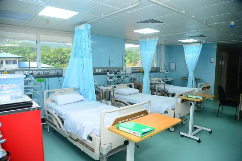 BioClad Complete Plastic Cladding Works on Asiri Hospital, Sri Lanka