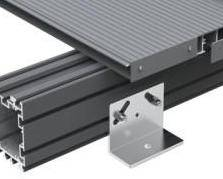 Adjustable Pedestal Brackets