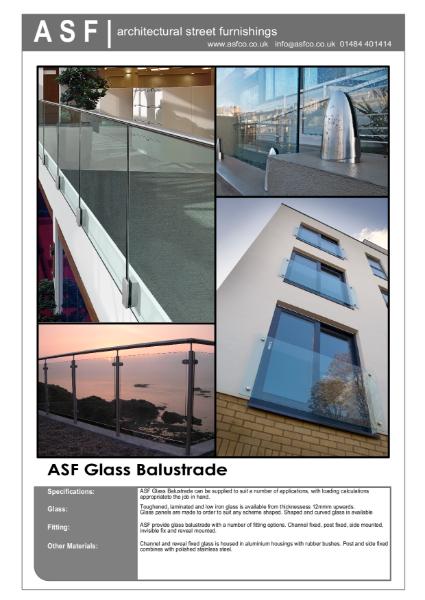 ASF Glass Balustrade