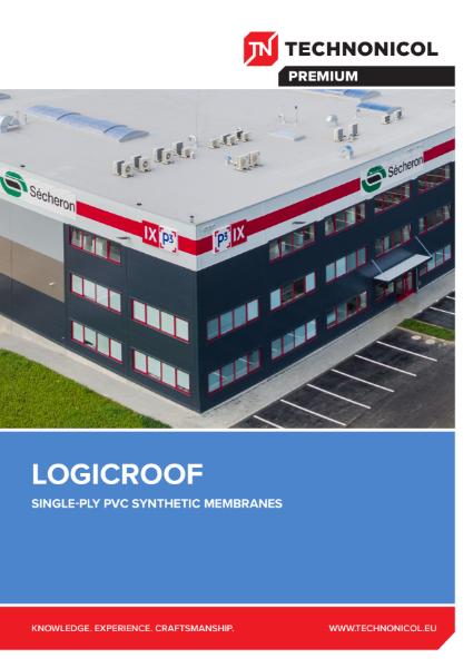 TN LOGICROOF Single-Ply Membranes Brochure