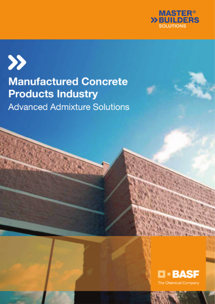Manufactured Concrete Products Industry - Advanced Admixture Solutions