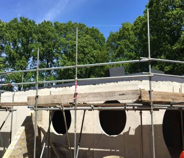 External Waterproofing System - Hobbit House