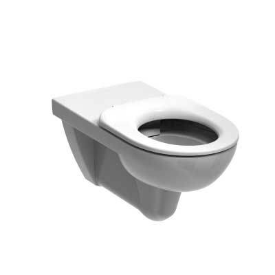 E100 Rimless 700 Wall Hung WC
