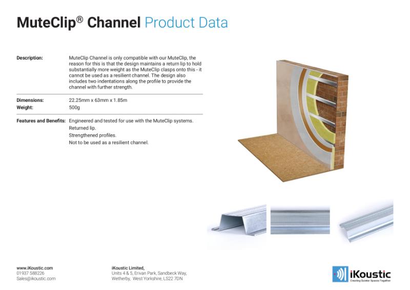 MuteClip® Channel