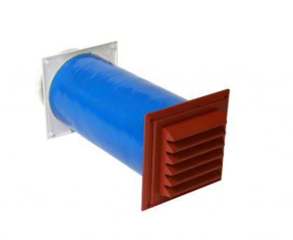Glidevale Protect Fresh 80 dB Acoustic Wall Ventilator