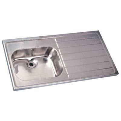 Stainless Steel Sink and Drainer ST A