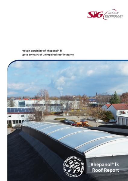 FDT Rhepanol fk PIB Single Ply Flat Roofing Membrane Report