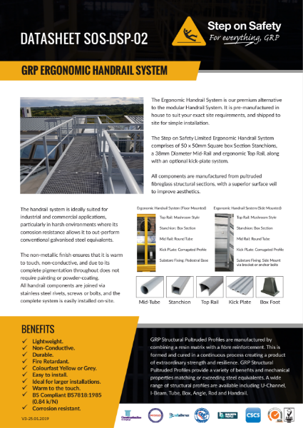 GRP Handail System