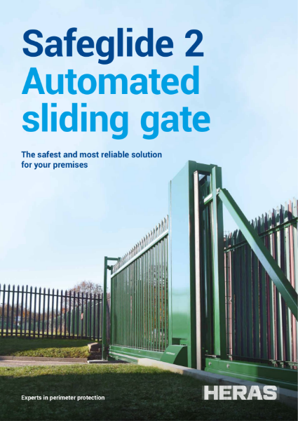 Automated Cantilever Sliding Gate