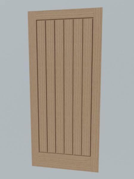 Single Boarded Door