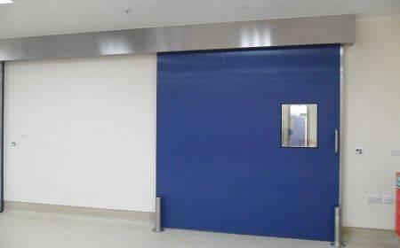 Hygienic Sliding GRP Fire Doors - 180 Min FR