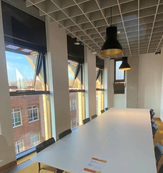 Natural Ventilation at the University of Birmingham School of Engineering
