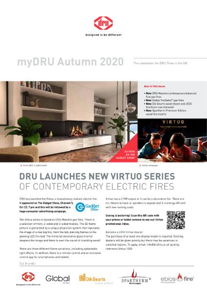 DRU Fires autumn newsletter 2020