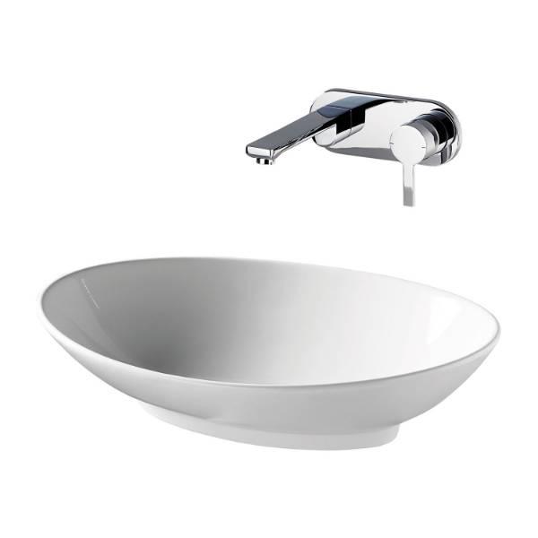 Isorno 63 cm Vessel Washbasin