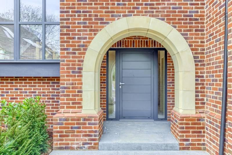 Funky Front Aluminium Entrance Doors