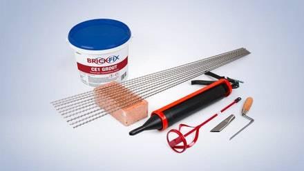 Brickfix Masonry Crack Stitching System