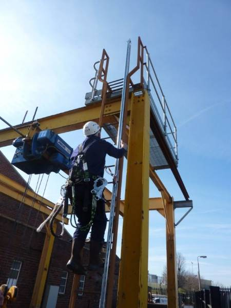 Vertical Fall Protection - GlideLoc