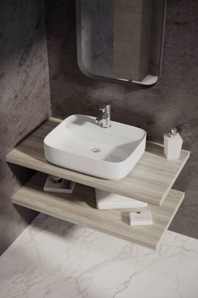 Square Free Standing Basin 500 mm