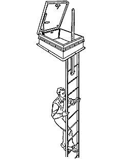 LadderUP® Safety Post