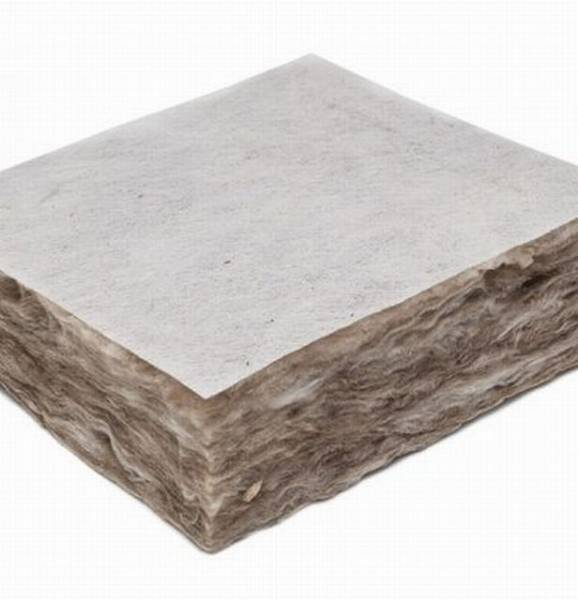 538 White Tissue Faced Rockwool Roll