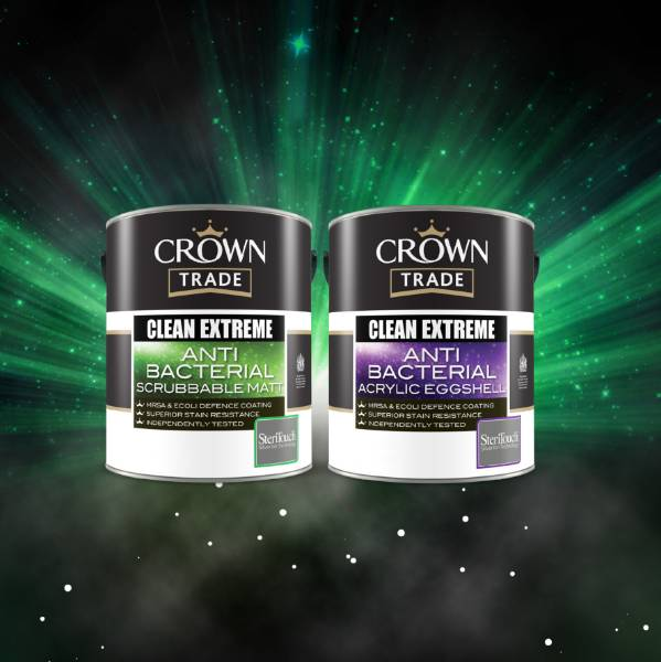 Paint with added protection from Crown Trade