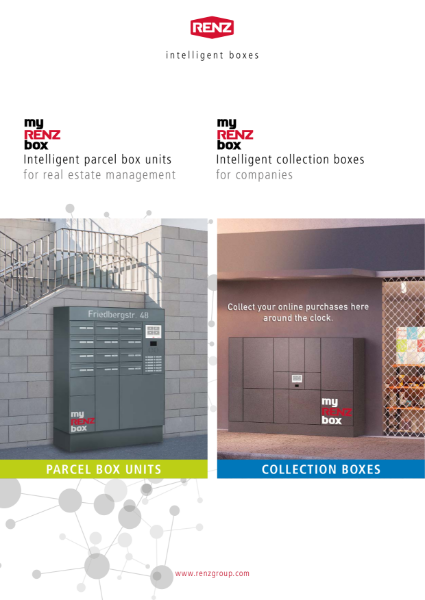 myRENZbox - Intelligent Parcel Box Brochure