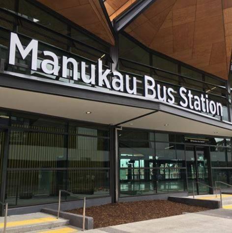 Manukau Bus Station, NZ
